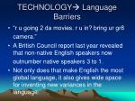 technology language barriers