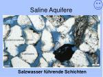 saline aquifere