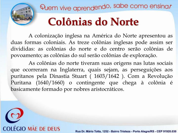 Colônias do Norte