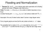 flooding and normalization1