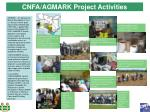 cnfa agmark project activities