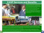 kasp services and benefits