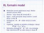 rl formalni model