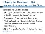flipping the classroom get students prepared before the class