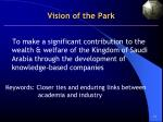 vision of the park