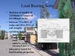 load bearing soils