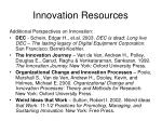 innovation resources