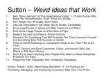 sutton weird ideas that work