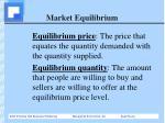 market equilibrium1