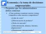 econom a y la toma de decisiones empresariales4