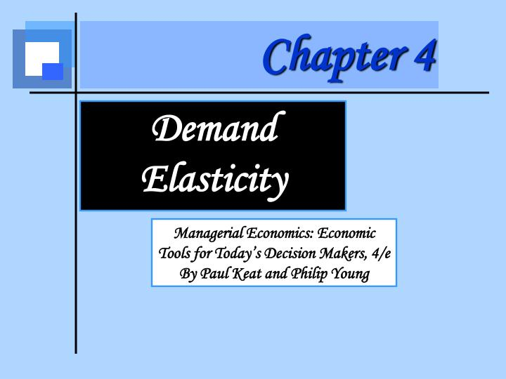 managerial economics supply and demand