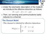 effective distortion