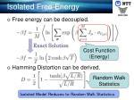 isolated free energy