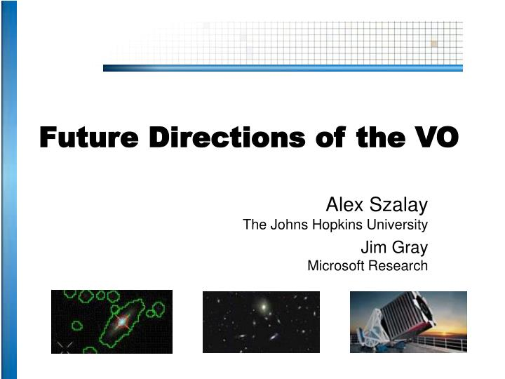 future directions of the vo n.