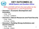 key outcomes 2 srcm eastern and southern africa