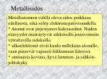 metallisidos