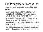 the preparatory process 2
