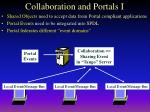 collaboration and portals i