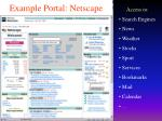 example portal netscape