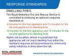 response standards