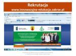 rekrutacja www innowacyjna edukacja zabrze pl