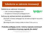 szkolenia w zakresie innowacji1