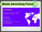 mobile advertising france3