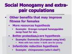 social monogamy and extra pair copulations2
