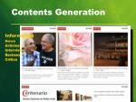 contents generation1