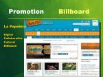 promotion billboard