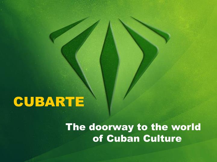 the doorway to the world of cuban culture n.