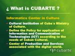 what is cubarte