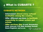 what is cubarte2