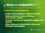 what is cubarte4