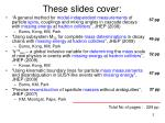 these slides cover