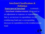 interfund classifications definition nonreciprocal interfund continued1