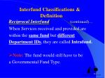 interfund classifications definition reciprocal interfund continued7