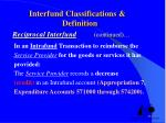 interfund classifications definition reciprocal interfund continued8