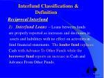 interfund classifications definition reciprocal interfund