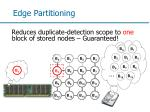 edge partitioning