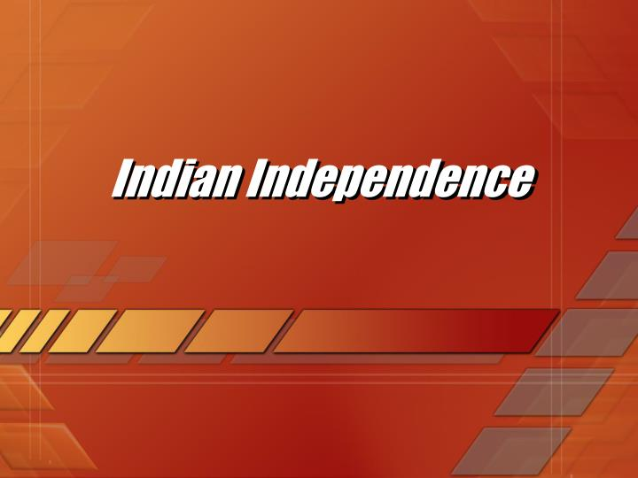 indian independence n.