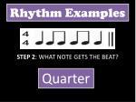 rhythm examples1