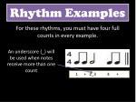 rhythm examples4