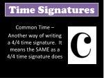 time signatures6