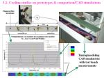 3 2 cooling studies on prototypes comparison cad simulations