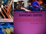 the complete servicing centre