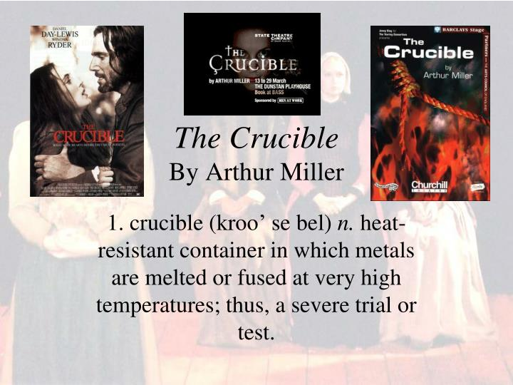 the consequences of pride in the crucible by arthur miller Arthur miller's early life  he was born in 1915, new york  was part of a moderately wealthy family until the great depression, the lost everything.