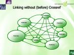 linking without before crossref