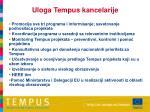 uloga tempus kancelarije