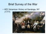 brief survey of the war2